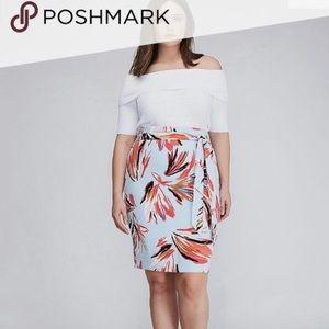 NEW Lane Bryant • Infinite High Waisted Skirt